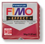 Fimo effect ruby red 28