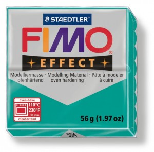 Fimo effect transparentna green 504