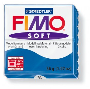 Fimo soft pacific blue 37