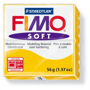 Fimo soft sun yellow 16